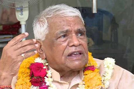 भाजपा नेता बाबू लाल गौर ने ठुकराया कांग्रेस के लिए इमेज परिणाम