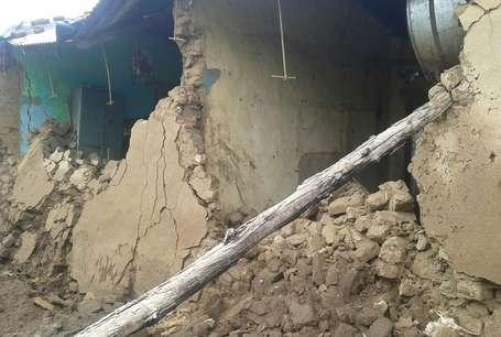 अमरोहा: भीषण बारिश के चलते गिरा मकान, मां-बेटी की मौत
