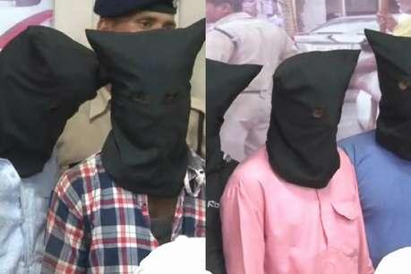 बाइक नंबर ने खोल दी लुटेरों की पोल, जीजा-साले को लूटने वाले पांच आरोपी गिरफ्तार