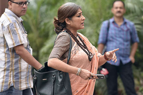 cid question bjp mp rupa ganguly child trafficking case