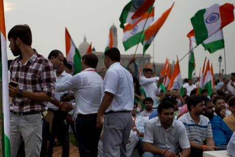 भारतीयों नेजोहानिसबर्ग में मनाया स्वतंत्रता दिवस