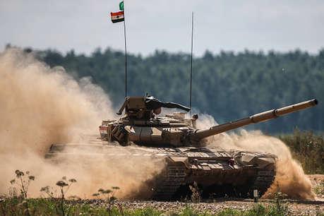खराबी की वजह से रूस में प्रतियोगिता से बाहर हुई भारतीय टैंक