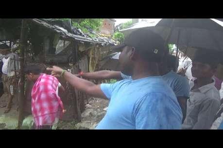लगातार हो रही बारिश से गिरी घर की दीवार, दो बच्चों की दर्दनाक मौत