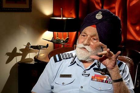 एयर मार्शल अर्जन सिंह के निधन पर योगी ने जताया शोक, बोले- आपका योगदान हमेशा याद रहेगा