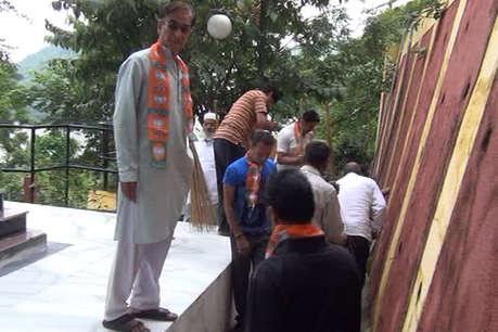 डूंगरपुरः स्वच्छता के रूप में मनाया जा रहा प्रधानमंत्री मोदी का जन्मदिन