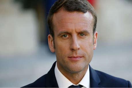 फ्रांस के राष्ट्रपति ने किया कतर के खिलाफ प्रतिबंध हटाने का आग्रह