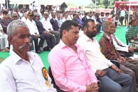 पूर्व सैनिक रैलीः दर्द और गर्व दोनों दिखे शहीदों के परिजनों के चेहरों पर