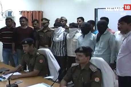 अम्बेडकरनगर: वाहन चोर गिरोह के चार सदस्य गिरफ्तार