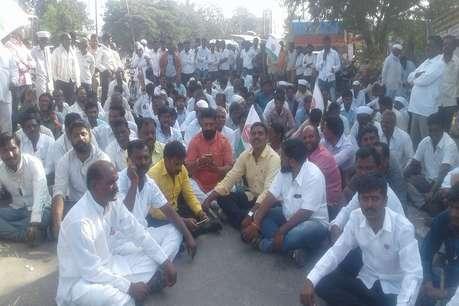 अब महाराष्ट्र में किसानों पर गोलीबारी, बैकफुट पर सरकार