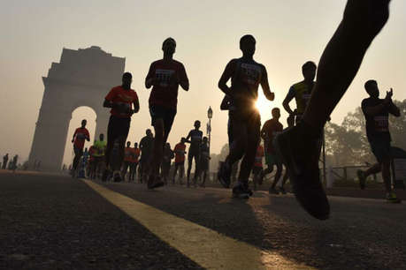 delhi will run in half marathon on sunday | nation - News in