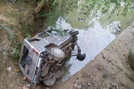 बोलेरो और बाइक की टक्कर में 6 लोग गंभीर रुप से हुए जख्मी