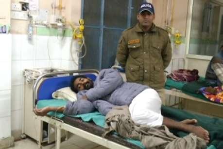 मातृ सदन संत को पुलिस ने जबरन अस्पताल में करवाया भर्ती