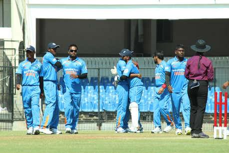 दृष्टिबाधित क्रिकेट विश्व कप : भारत ने बांग्लादेश को 10 विकेट से हराया
