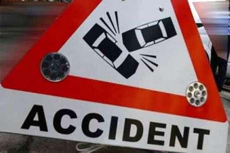 आजमगढ़: सड़क हादसे में पिता-पुत्र की मौत, तीन घायल