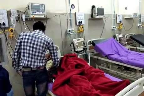 अलवरः तीन महीने से खराब है राजीव गांधी अस्पताल की वेंटिलेटर मशीन