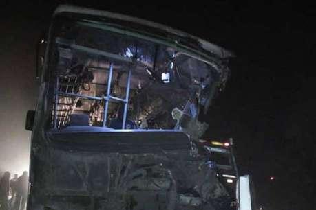 HRTC की बस किरतपुर में दुर्घटनाग्रस्त, करीब एक दर्जन लोग बुरी तरह से घायल