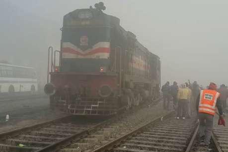 शामली में टला बड़ा रेल हादसा: दिल्ली-सहारनपुर पैसेंजर ट्रेन का इंजन पटरी से उतरा