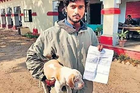 आगरा: बिना टिकट यात्रा कर रहे कुत्ते पर लगा 2290 रुपए का जुर्माना