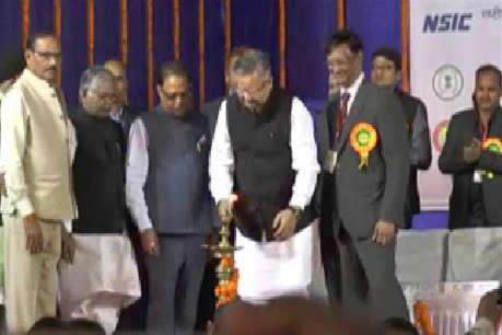 बिलासपुर में राष्ट्रीय उद्योग-व्यापार मेले का सीएम ने किया शुभारंभ