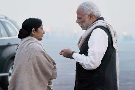 PM मोदी के एक फोन कॉल से बचाए गए 6772 लोग, सुषमा का खुलासा