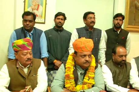 रावणा राजपूत और करणी सेना ने की कांग्रेस के समर्थन की घोषणा