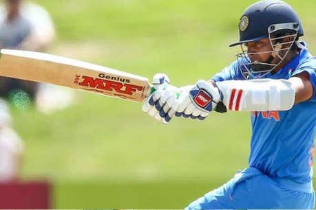 U-19 क्रिकेट वर्ल्ड कप: 94 रन की पारी के साथ इस ख़ास क्लब में शामिल हुए पृथ्वी शॉ