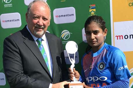 मिताली एंड कम्पनी ने पहले टी 20 मैच में अफ्रीका को सात विकेट से रौंदा