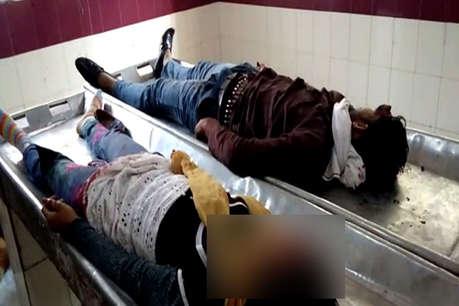 फिरोजाबाद में लड़की को गोली मारने के बाद सिरफिरे आशिक ने खुद को मारी गोली