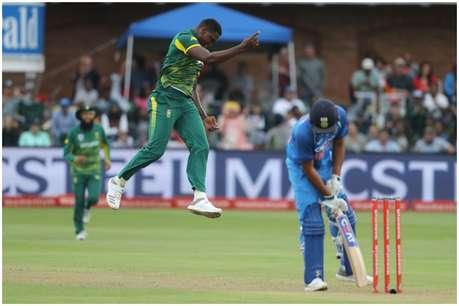 5वें वनडे में एन्गिडी ने टीम इंडिया को कराया 'लुंगी डांस'!