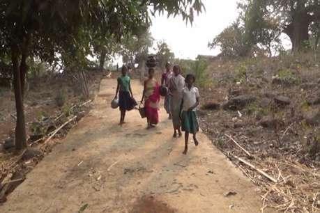 500 लोगों की आबादी वाले इस गांव में पानी की भीषण समस्या