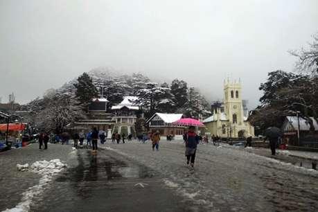 मौसम का रुख बदला, हिमाचल के कई इलाकों में बारिश और बर्फबारी