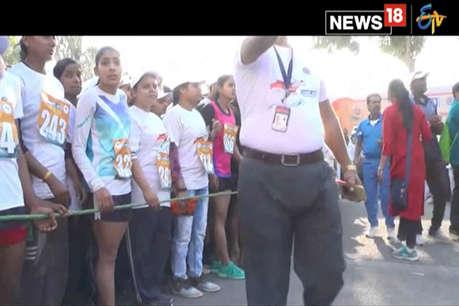 VIDEO: कानपुर में 'गंगा रन' जागरूकता रैली का आयोजन