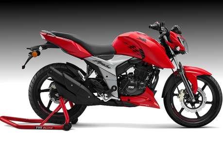 TVS भारत में लायी नई अपाचे बाइक, 81,490 रुपये है कीमत