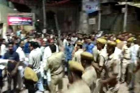 रामनवमी की शोभायात्रा पर पथराव से शहर में तनाव के हालात