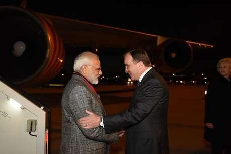स्वीडन के प्रधानमंत्री ने हिंदी में ट्वीट कर किया मोदी का स्वागत