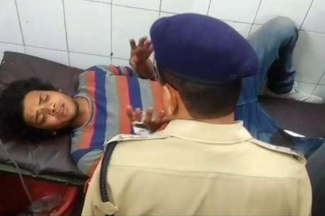 अलीगढ़: मुठभेड़ के दौरान 25 हजार का इनामी बदमाश गिरफ्तार