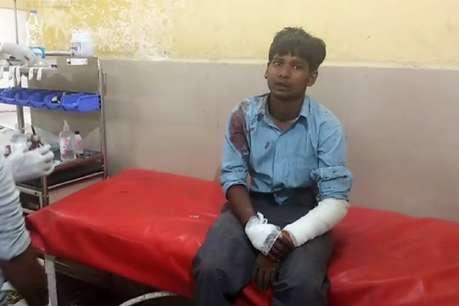 फतेहपुर में बारातियों से भरी बस पलटी, एक की मौत, दो दर्जन घायल