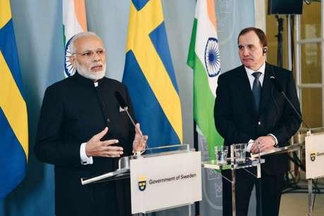 पीएम मोदी ने स्वीडन के प्रधानमंत्री से की मुलाकात, भारत-नॉर्डिक सम्मेलन में होंगे शामिल