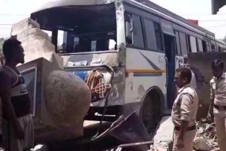 महाराष्ट्र: ट्रक और बस में भीषण टक्कर, 5 की मौत