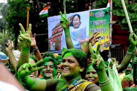 बंगाल पंचायत चुनाव: नंबर 1 पार्टी बनी TMC, बीजेपी ने लेफ्ट को पछाड़ा