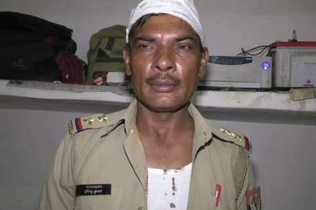एटा: वारंटी को पकड़ने गई पुलिस टीम पर जानलेवा हमला, दरोगा घायल