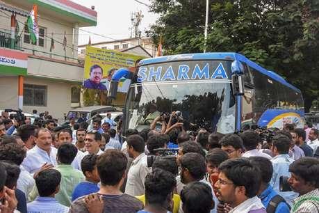 विधायकों के लिए कांग्रेस-जेडीएस को क्यों है सिर्फ शर्मा ट्रैवल्स की बसों पर भरोसा