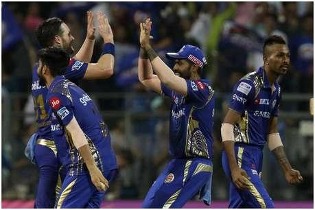 IPL 2018: राहुल की शानदार पारी बेकार, मुंबई प्लेऑफ की दौड़ में कायम