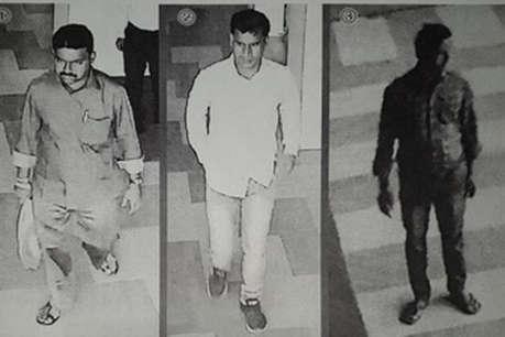 54 लाख लूट मामले में 3 अपराधियों की तस्वीर जारी, सूचना देने वाले को मिलेगा एक लाख रुपये