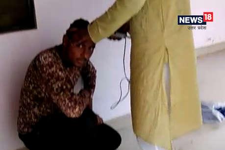 सहारनपुर: छेड़छाड़ के आरोपी युवक को पुलिस ने थाने में ही दे दी ये सजा...