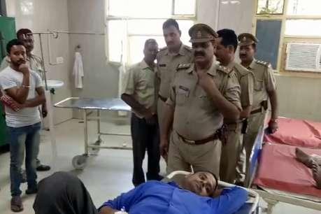 फर्रुखाबाद में पुलिस और बदमाशों में मुठभेड़, कांस्टेबल समेत 3 घायल