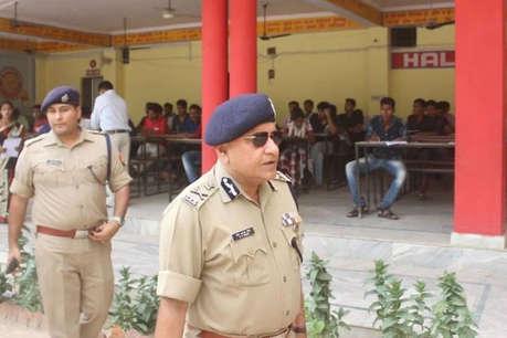 सिपाही भर्ती परीक्षा के पहले दिन 20 फीसदी अभ्यर्थियों ने छोड़ी परीक्षा, सॉल्वर गैंग के 33 गिरफ्तार