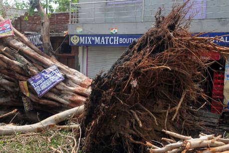 उत्तर प्रदेश में आंधी-बारिश का कहर, 14 की मौत, कई घायल