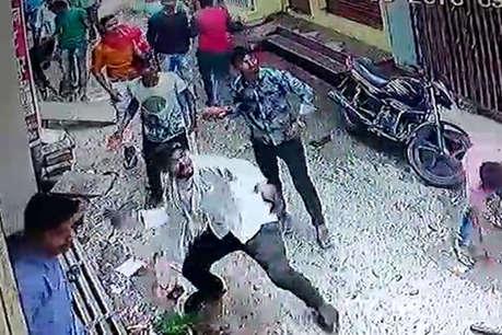 जौनपुर: मकान पर कब्जे को लेकर किरायेदार और मालिक के बीच जमकर हुई पत्थरबाजी