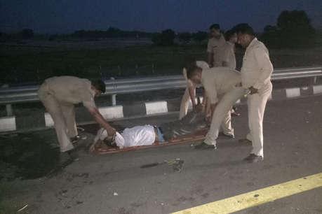 कन्नौज: एक्सप्रेस-वे पर बस ने 9 छात्रों को कुचला, 7 की मौके पर ही मौत